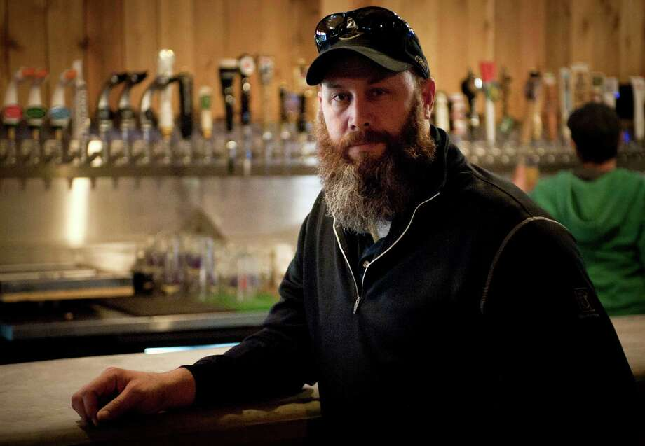 The Friendly Spot owner Steve Newman built another bar at the back to accommodate more varieties of craft beer. Photo: Darren Abate, Darren Abate/For The Express-New