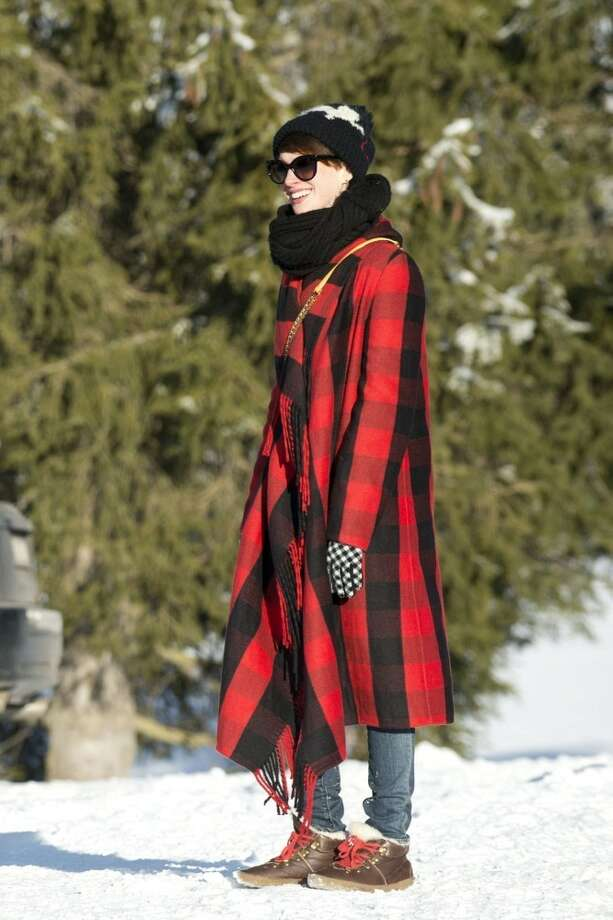 Anne Hathaway started the year quietly enough, with a vacation in Switzerland.  Then things started happening.