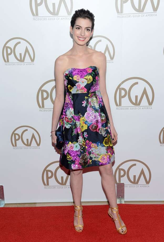 At the producer's guild awards in January.
