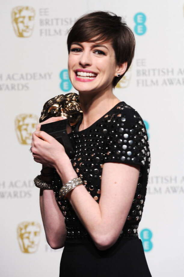 Truly gratified to win the BAFTA awards in Britain in February. Photo: Dave J Hogan, Getty Images / 2013 Dave J Hogan