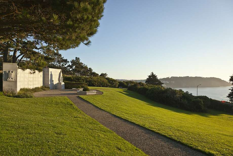 The West Coast World War II Memorial in the Presidio. Photo: The Presidio Trust