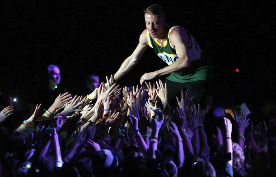 """Can't Hold Us"" by Macklemore & Ryan Lewis Photo: JOSHUA TRUJILLO / SEATTLEPI.COM"