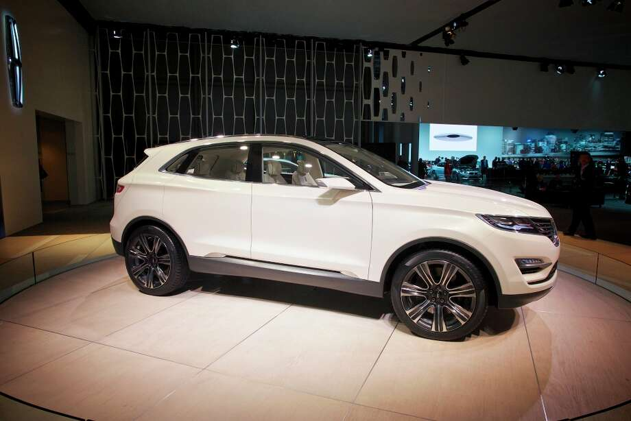 The Lincoln MKC crossover concept vehicle at the New York International Auto Show. The show continues through April 7. Photo: BENJAMIN NORMAN, New York Times / NYTNS