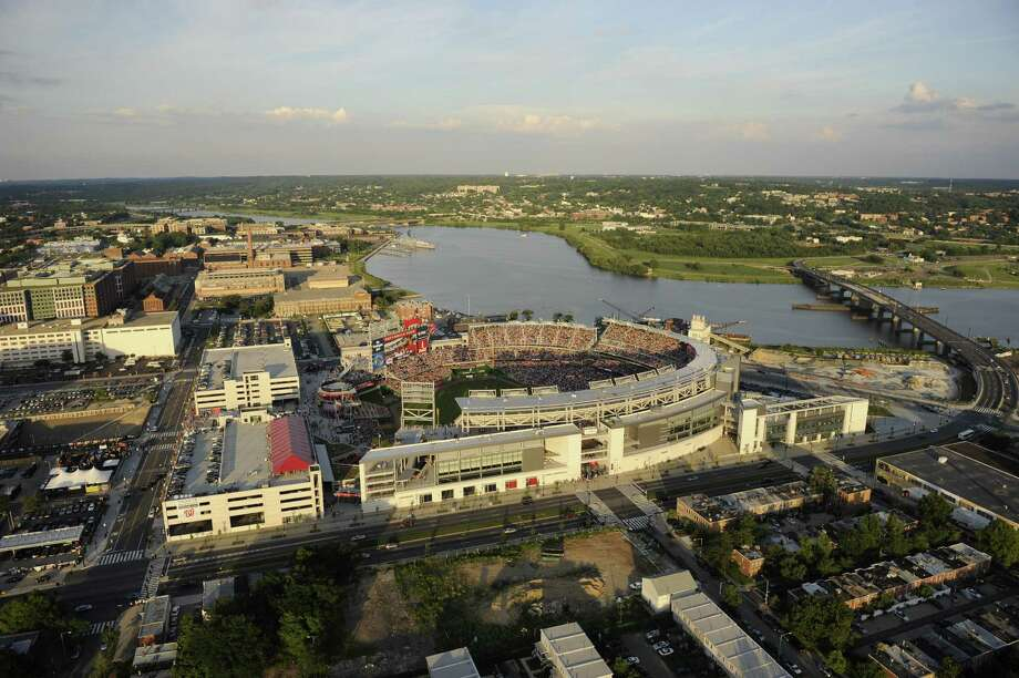 3. Nationals Park, home of the Washington Nationals. Homes cost $392 per square foot, 2.33 times the area average. Photo: Mitchell Layton, Getty Images / 2009 Mitchell Layton