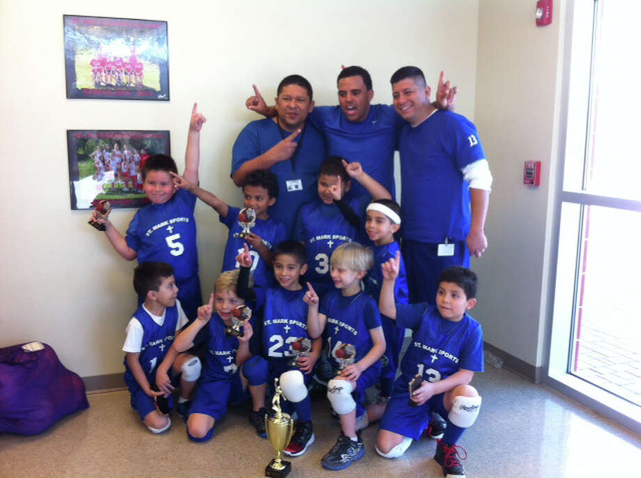 South Texas Stars 0328 Team : St Marks Dragons CYO Tiny 1 Zone 4 City Champs 12-1 record