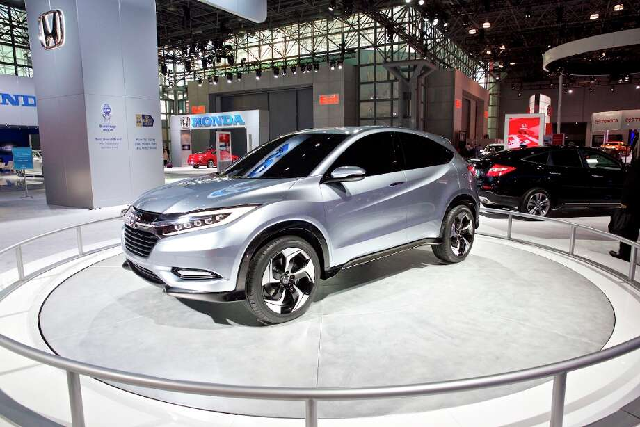 The Honda Urban SUV concept at the New York International Auto Show. Photo: BENJAMIN NORMAN, New York Times / NYTNS