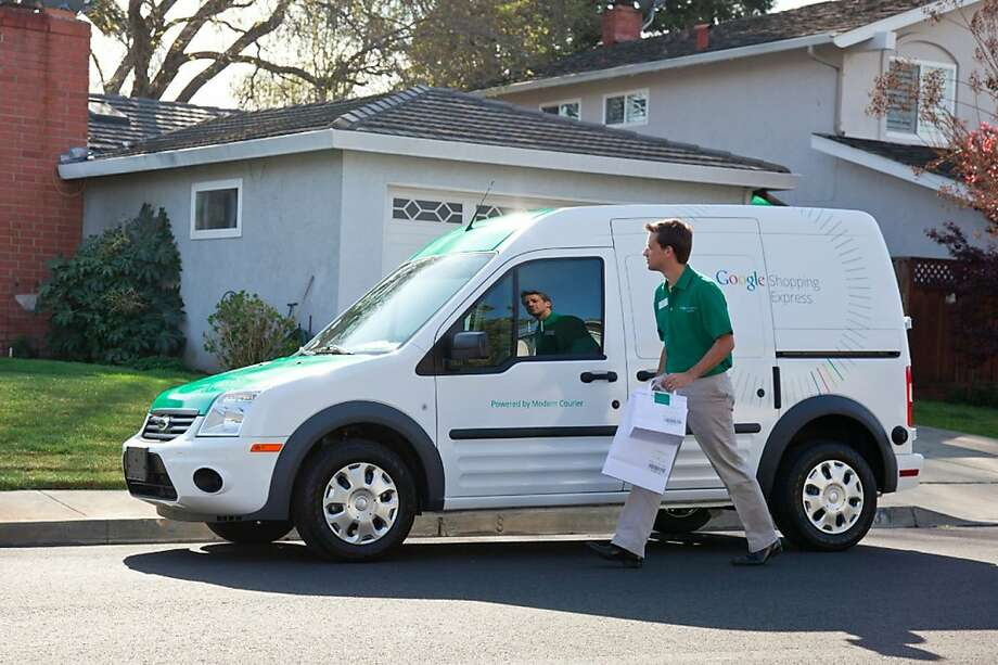 Google Shopping Express is a pilot program that allows shoppers to order items online and get them delivered that same day. Photo: Google.com