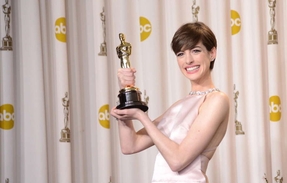 It has been a year of triumph so far for Anne Hathaway.  Let's look back on the big events so far. Photo: Jason Merritt, Getty Images / 2013 Getty Images