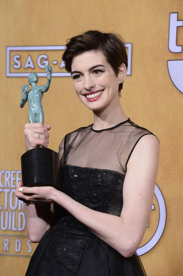 Happy enough to win the SAG award in January . . . but it's not the same as an Oscar.