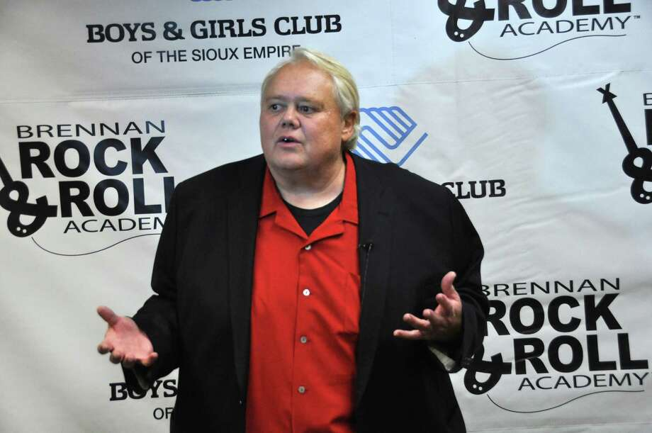 "Comedian Louie Anderson, shown in this photo taken Wednesday, March, 27, 2013 in Sioux Falls, S.D., was able to skip practice from the celebrity diving show ""Splash"" to do a benefit stand-up show for the Brennan Rock & Roll Academy. (AP Photo/Dirk Lammers) Photo: Dirk Lammers"