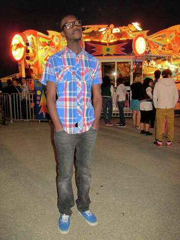 Jonathan Batiste, 18 Where: South Texas State Fair One thing you do for fun: Go to the movies, walk in the park and go to church. Your style: Van s, Sperry s and unique things. Wearing: Arizona shirt and jeans from JCPenney, Van s shoes, glasses from Claire s Oh, and one more thing: I m a laid back person and I like meeting new people and having fun. Photo: Grace Mathis
