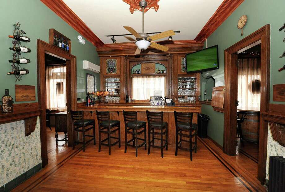Bar room in the Gavel Grille located in an 1870?s era courthouse on Friday, March 22, 2013 in Hudson Falls, N.Y. (Lori Van Buren / Times Union) Photo: Lori Van Buren