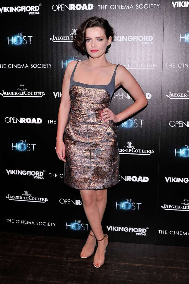Roxane Mesquida attends The Cinema Society and Jaeger-LeCoultre Hosts A Screening Of The Host at Tribeca Grand Hotel on March 27, 2013 in New York City. Photo: Stephen Lovekin, Getty Images / 2013 Getty Images