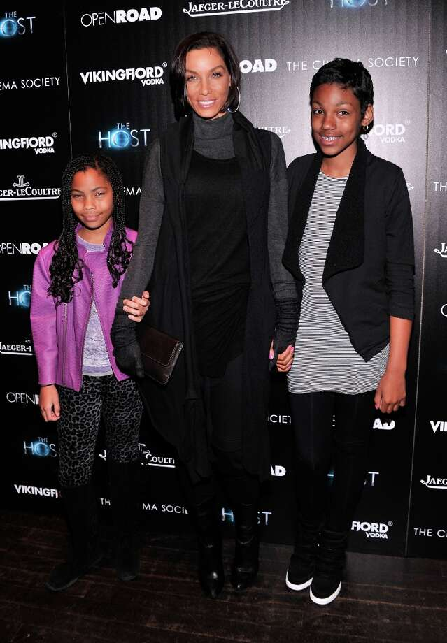 Nicole Murphy (C) attends The Cinema Society & Jaeger-LeCoultre Hosts A Screening Of The Host at Tribeca Grand Hotel on March 27, 2013 in New York City. Photo: Stephen Lovekin, Getty Images / 2013 Getty Images