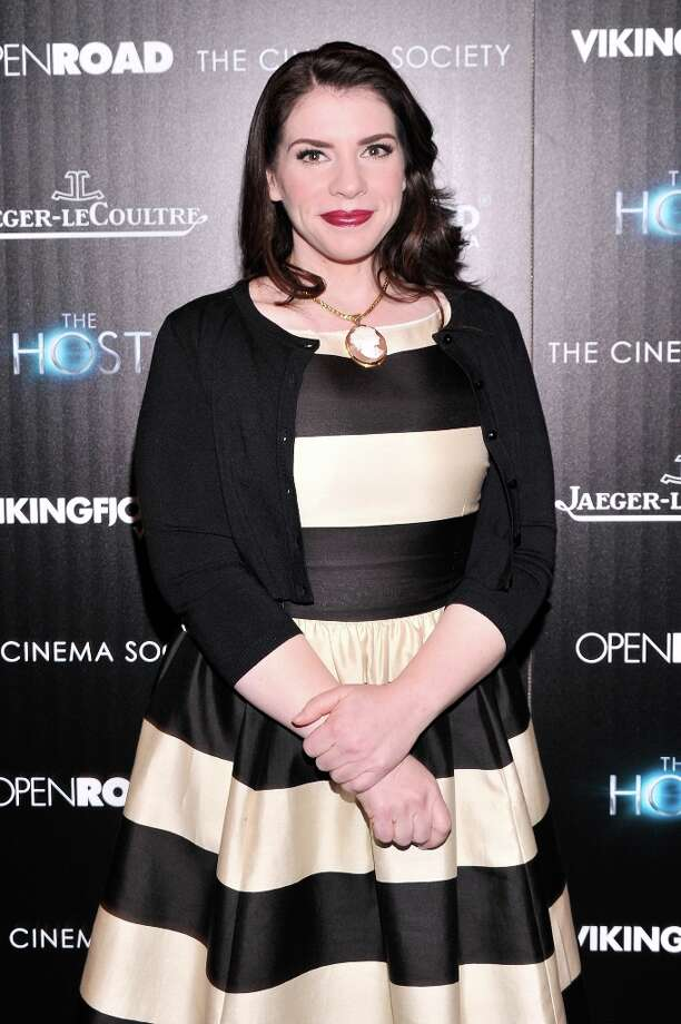 Writer Stephenie Meyer attends The Cinema Society and Jaeger-LeCoultre Hosts A Screening Of The Host at Tribeca Grand Hotel on March 27, 2013 in New York City. Photo: Stephen Lovekin, Getty Images / 2013 Getty Images