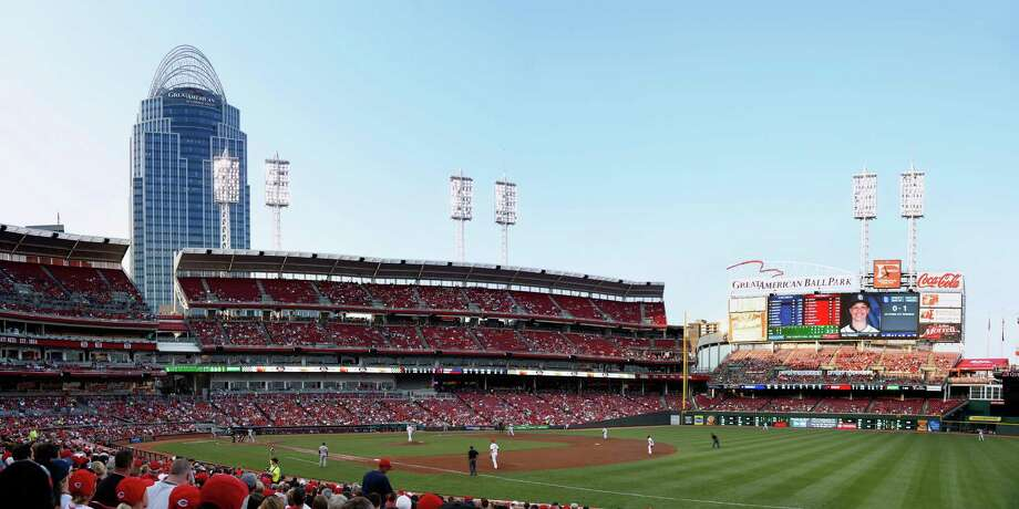 1. Great American Ball Park, home of the Cincinnati Reds. Homes 