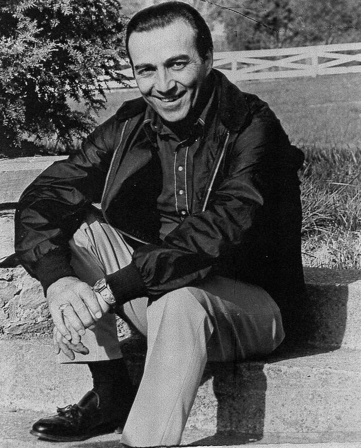 "May 1961: Faron Young (pictured) scores a hit with Nelson's ""Hello Walls."" The song was a No. 1 country hit and crossed over to No. 12 on the pop charts, where it spent nearly three months. Nelson recorded his own version of the song later that year. Photo: AP / AP"
