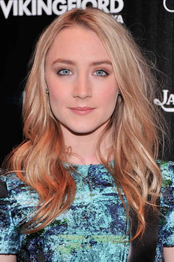 Actress Saoirse Ronan attends The Cinema Society and Jaeger-LeCoultre Hosts A Screening Of The Host at Tribeca Grand Hotel on March 27, 2013 in New York City. Photo: Stephen Lovekin, Getty Images / 2013 Getty Images
