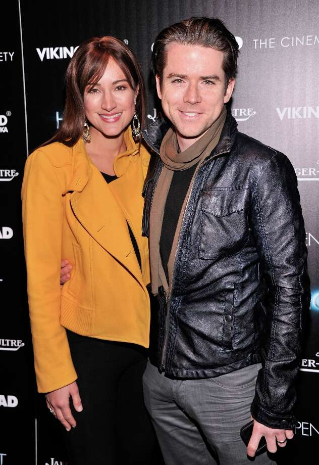 America Olivo and Christian Campbell attend The Cinema Society and Jaeger-LeCoultre Hosts A Screening Of The Host at Tribeca Grand Hotel on March 27, 2013 in New York City. Photo: Stephen Lovekin, Getty Images / 2013 Getty Images