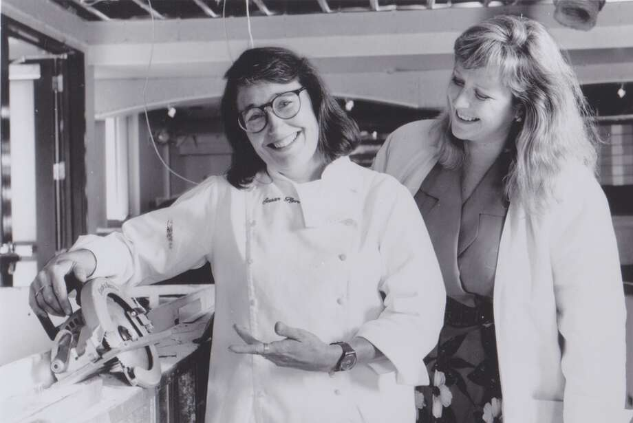 Sue Flynn and Nancy Oakes, 1992