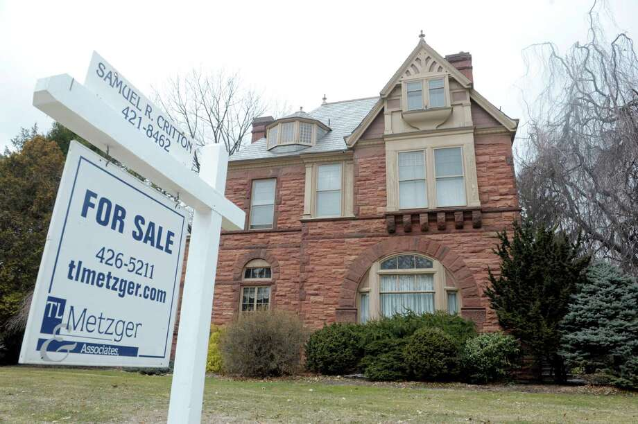 A view of the University of Albany president's home at  5 Englewood Place, on Thursday, March 28, 2013 in Albany, NY.   (Paul Buckowski / Times Union) Photo: Paul Buckowski