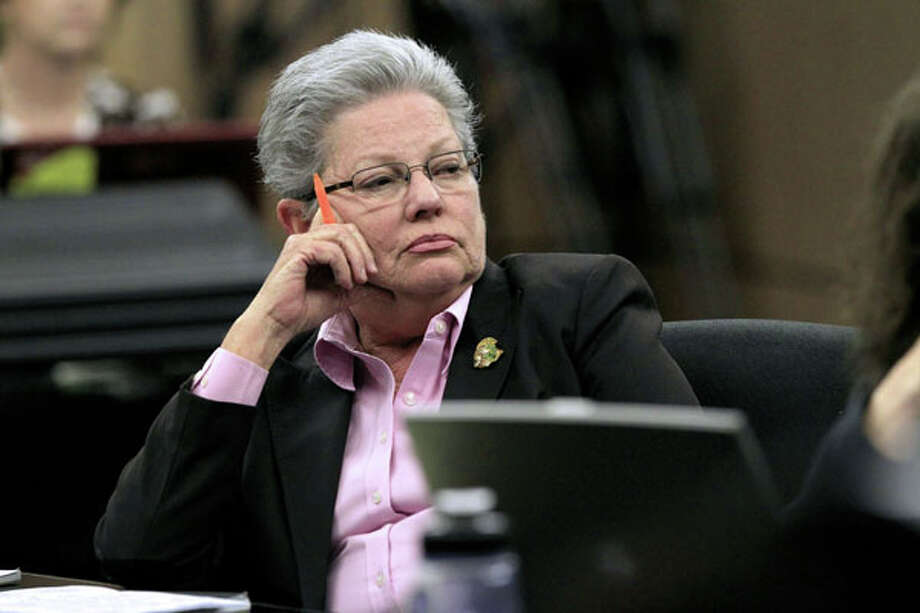 Assistant State Attorney Ellen Roberts listens during the third day of jury selection in the drunken-driving manslaughter case of multimillionaire polo mogul John Goodman, Thursday, March 8, 2012 in West Palm Beach, Fla. (AP Photo/Palm Beach Post, Lannis Waters, Pool) Photo: Lannis Waters, Associated Press / Pool, Palm Beach Post