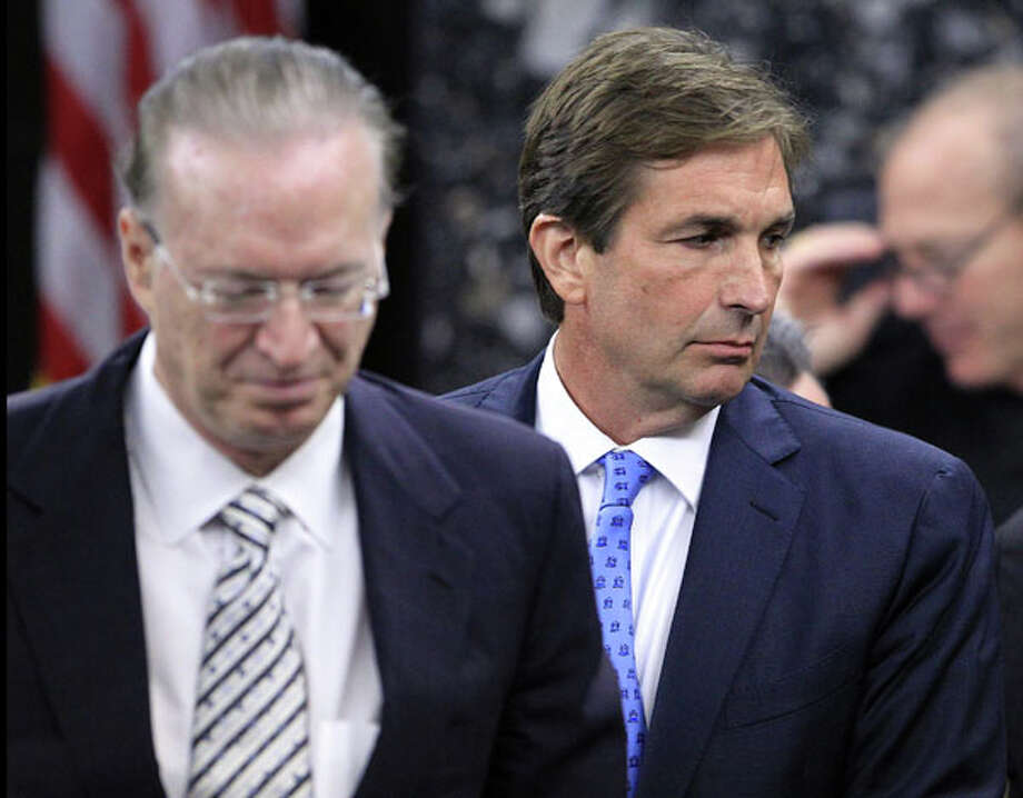 John Goodman, right, stands with attorney Roy Black during jury selection in his DUI manslaughter trial in West Palm Beach, Fla., Tuesday, March 6, 2012. Goodman is accused of driving drunk and leaving the scene of the February 2010 crash that killed 23-year-old Scott Wilson. Goodman is accused of driving drunk and leaving the scene of the February 2010 crash that killed 23-year-old Scott Wilson. (AP Photo/ The Palm Beach Post, Lannis Waters, Pool) Photo: Lannis Waters, Associated Press / The Palm Beach Post POOL