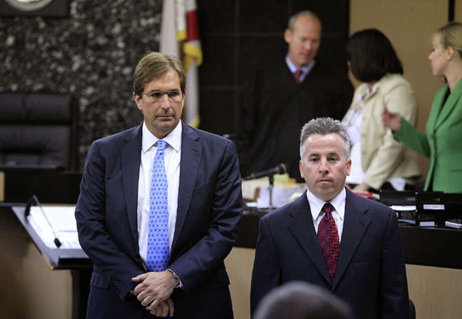 John Goodman stands with attorney Mark Shapiro during jury selection in his DUI manslaughter trial in West Palm Beach, Fla., Tuesday, March 6, 2012. Goodman is accused of driving drunk and leaving the scene of the February 2010 crash that killed 23-year-old Scott Wilson. (AP Photo/The Palm Beach Post, Lannis Waters, Pool) Photo: Lannis Waters, Associated Press / The Palm Beach Post POOL
