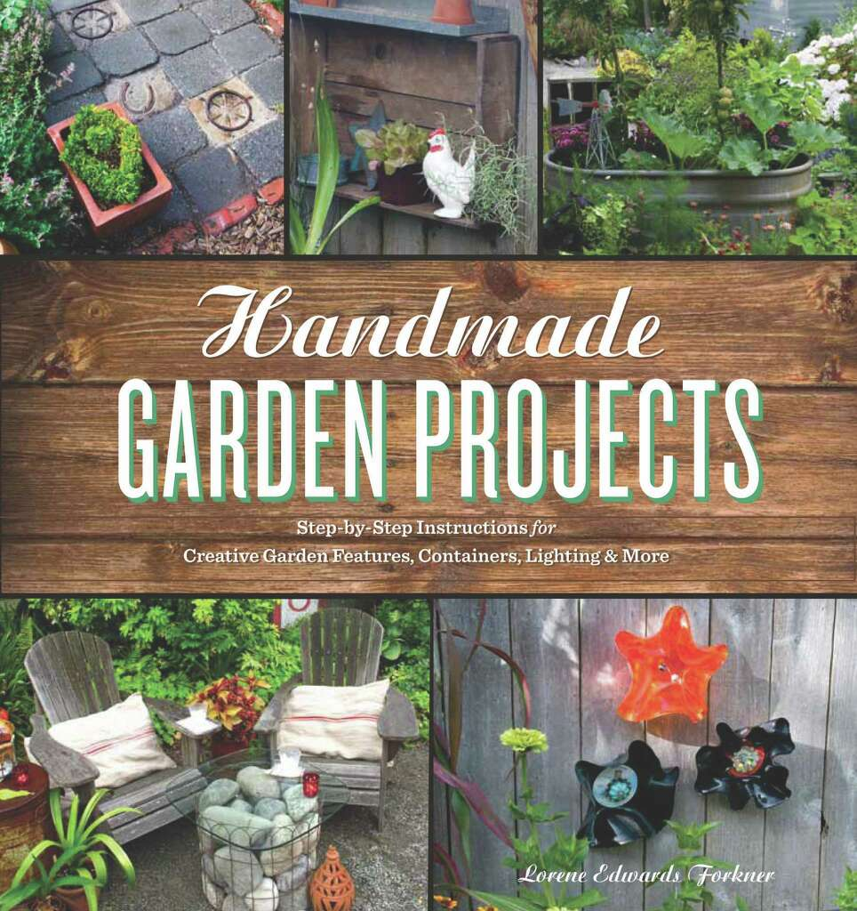 Homemade garden art - Rustic Trough Photo Handmade