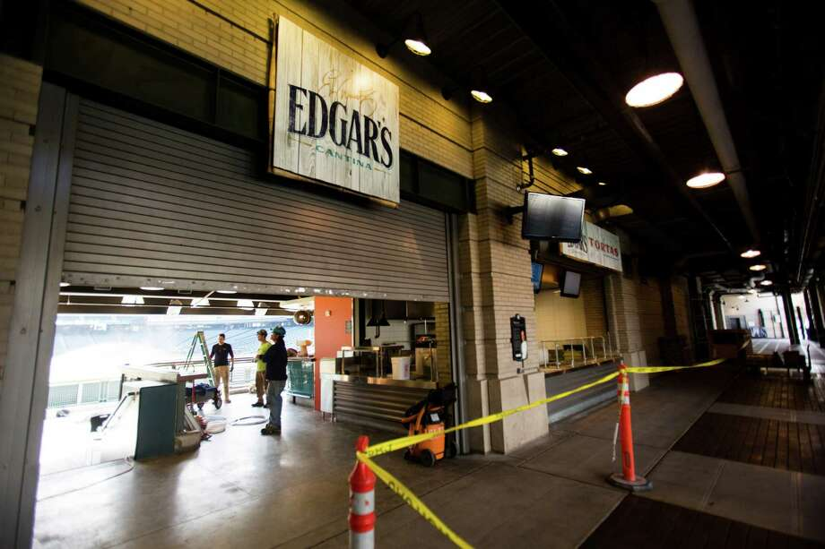 7) Edgar's Cantina.The new restaurant/bar down the left-field line will be open to the action. I'm sure we'll love the margaritas and food at Edgar's Cantina, but as far as a fun factor, I can't wait for the first home run to scatter a bunch of nachos. Or better yet, land in a jumbo margarita. Photo: JORDAN STEAD / SEATTLEPI.COM