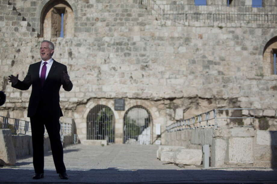 Back to politics:Conservative broadcaster Glenn Beck, shown here near the Western Wall in Jerusalem's Old City in 2011, said - ''I think it's about time we legalize marijuana. ... We either put people who are smoking marijuana behind bars or we legalize it, but this little game we are playing in the middle is not helping us.''Beck was one of many conservatives in recent years to support legalization in a backhanded, sidedoor sort of way. Others were Rick Perry, Bill O'Reilly  and Tea Party funder David Koch. Photo: Uriel Sinai, Getty Images / 2011 Getty Images