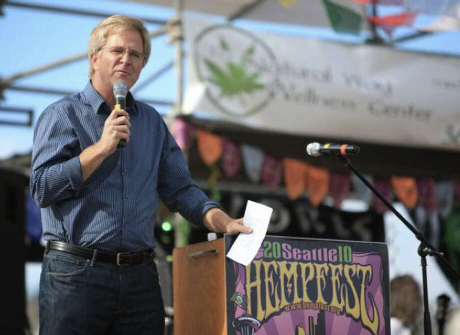 On to the local advocates of legalizing marijuana - many of whom are surprising backers since they are on the side of prosecution and law enforcement.But first up is Seattle travel guru Rick Steves. Locally we weren't too surprised that he put his name, company and reputation on the line to back marijuana legalization, but nationally people were sort of struck by it. In one interview last year, the Huffington Post was pretty curious about why a travel writer and successful businessman would stick his neck out for pot. Steves said: ''I got involved because I am a rare celebrity that's got the balls to speak out on this truth issue. A lot of people are just afraid that it's going affect their business and so I just think, I'm lucky, I don't need to be elected. I can't be fired.''