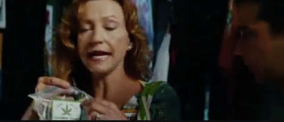 Bizarre movie marijuana moment: In ''Transformers 2,'' this mother gets out of control because of a pot brownie.