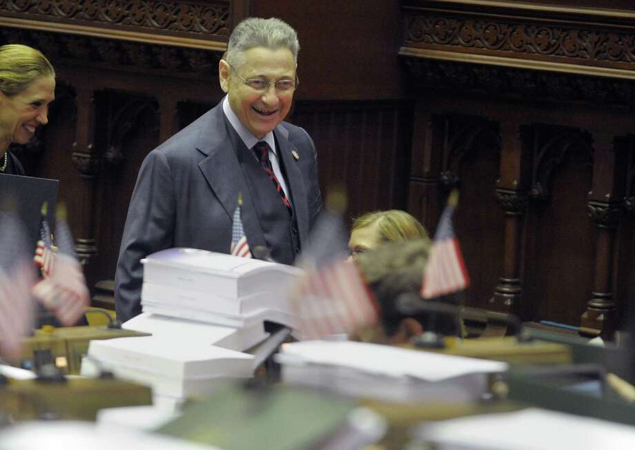 Assembly Speaker Sheldon Silver makes his way through the chambers as members of the Assembly debate and vote on budget bills on  on Thursday, March 28, 2013 in Albany, NY.    (Paul Buckowski / Times Union) Photo: Paul Buckowski