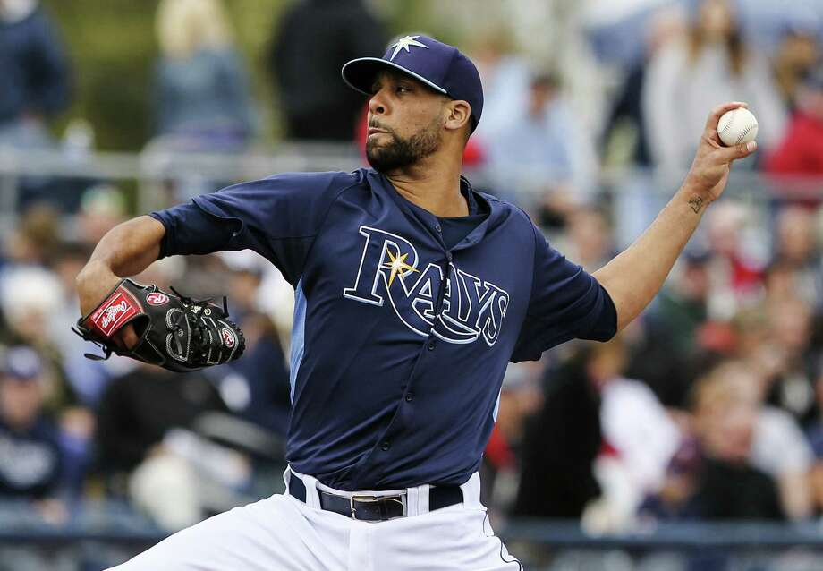 Rays left-hander David Price compiled a 20-5 record with a 2.56 ERA en route to winning the AL Cy Young award last season. He also had 205 strikeouts. Photo: Tom O'Neill / Associated Press
