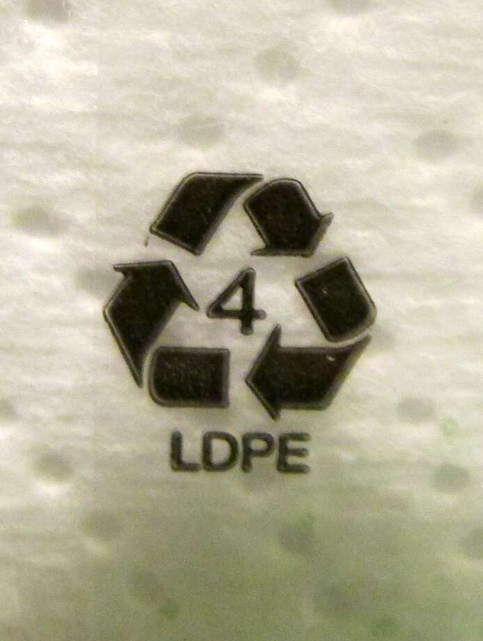 Plastic #4 - Low-density polyethylene (LDPE) is a thermoplastic made from petroleum. It can be found translucent or opaque. It is flexible and tough but breakable. No known health effects are associated with this type of plastic either. Photo by Erik DeFruscio. Photo: Picasa