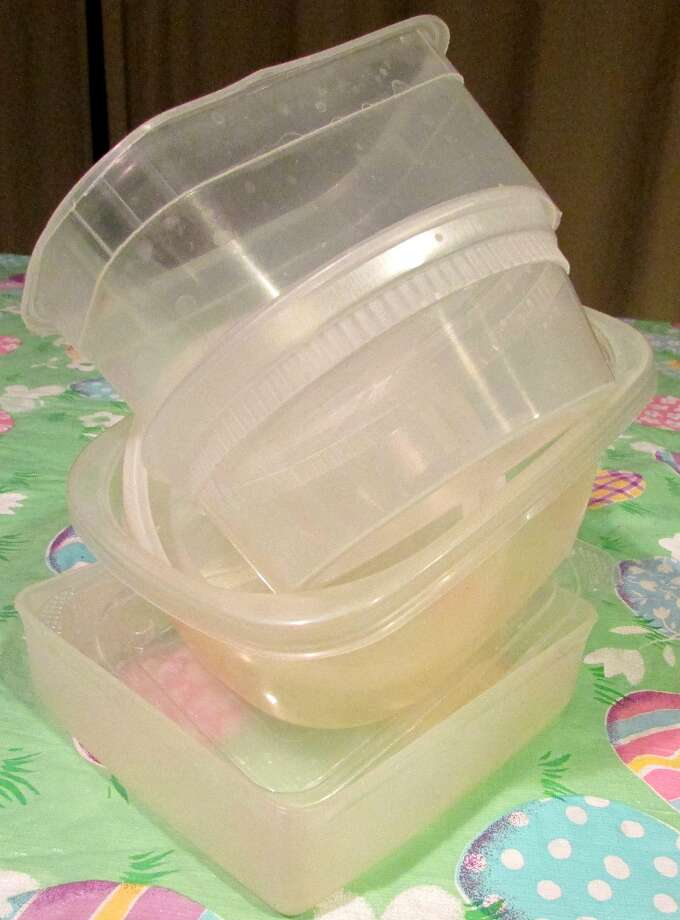 Tupperware containers are made with PP plastic for the toughness so that it can hold foods, liquids and other items you decide to store in it. And health effects aren't a scare when using these containers. Photo by Erik DeFruscio. Photo: Picasa