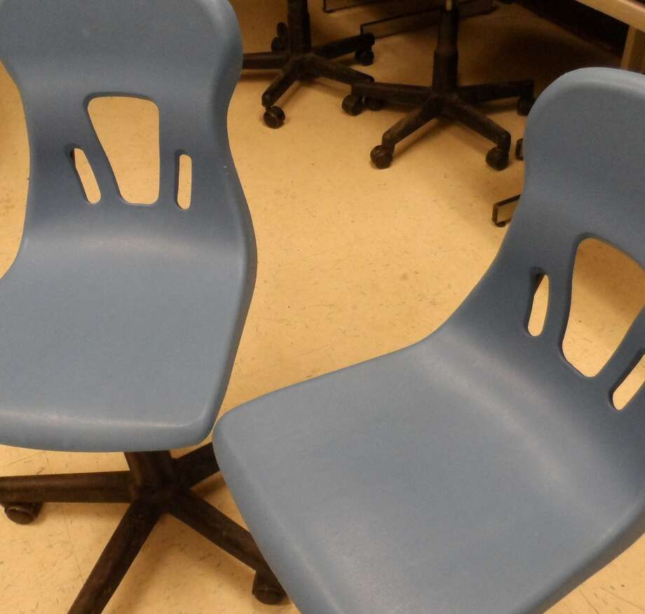 Plastic chair and plastic tables are made of PC and long term exposure may cause certain slight health effects. However, some plastics that are made of PC plastic can be BPA free which is a safer plastic. Photo by Erik DeFruscio. Photo: Picasa