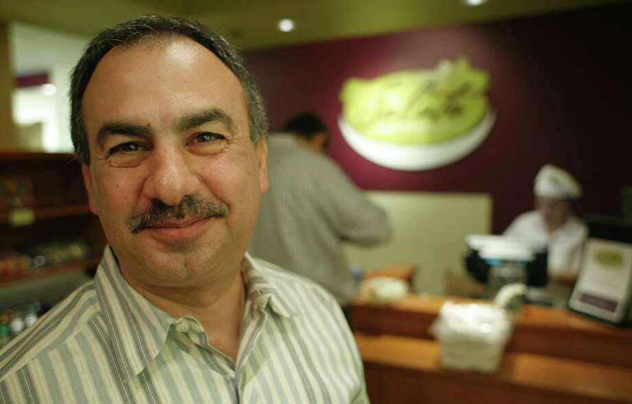 Berge Simonian was smiling six years ago, too. Photo: Steve Ueckert, Houston Chronicle / Houston Chronicle