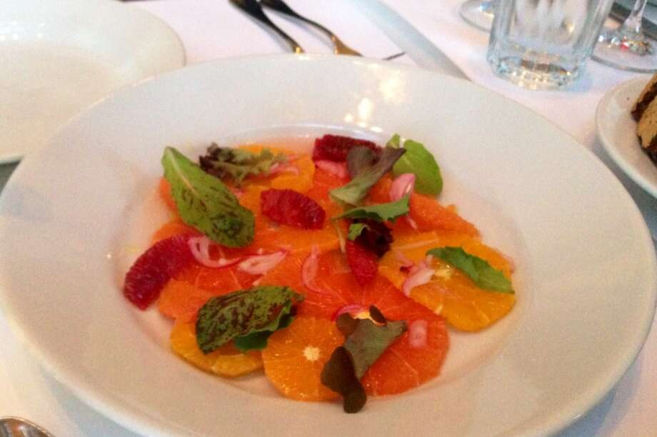 Citrus salad at Zuni Cafe