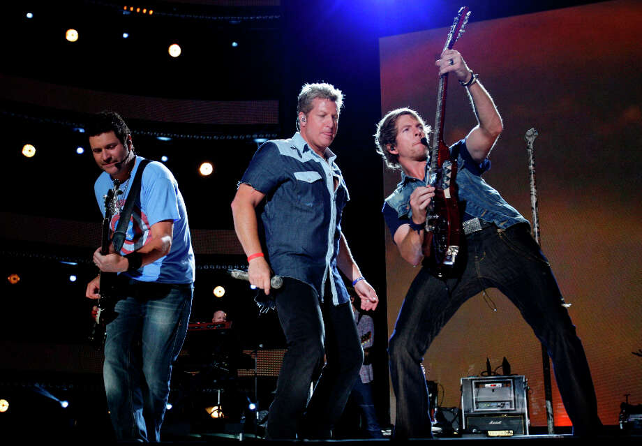 Rascal Flatts performs at the 2012 CMA Music Festival on Sunday, June 10, 2012 in Nashville, Tenn. Photo: Wade Payne, WADE PAYNE/INVISION/AP / 2012 Invision