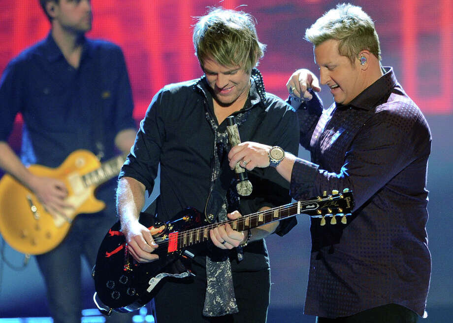 The Rascal Flatts perform during the American Country Awards on Monday, Dec. 10, 2012, in Las Vegas. (Photo by Al Powers/Powers Imagery/Invision/AP) Photo: Al Powers, Al Powers/Invision/AP / Invision