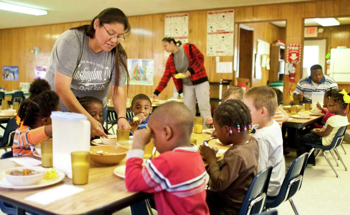 Teacher Marissa Williams leads a Head Start program at the tribe. Casino funds could be used to fund social programs. More: How the tribe regained gaming rights