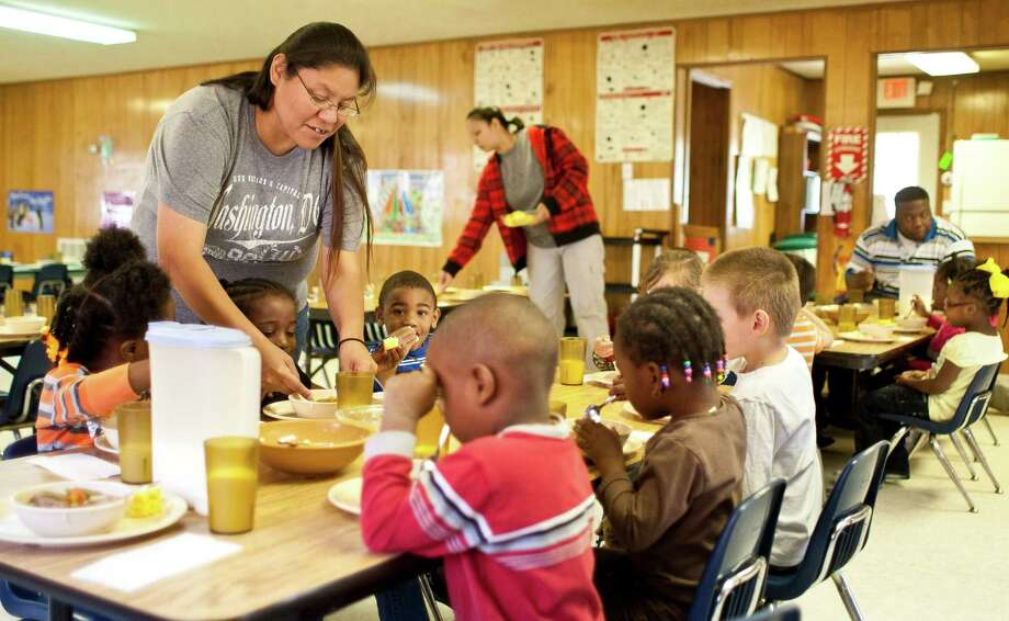 Teacher Marissa Williams leads a Head Start program at the tribe. Casino funds could be used to fund social programs.More: How the tribe regained gaming rights Photo: Nick De La Torre, Chronicle / © 2013 Houston Chronicle