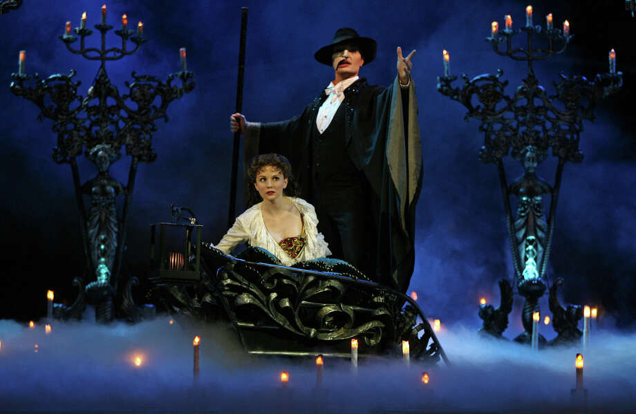 "Saturday:Three of the stars of the record-breaking Broadway hit ""Phantom on the Opera"" perform ""Three Phantoms"" at 8 p.m. at the Edgerton Center in Fairfield. Photo: Contributed Photo"