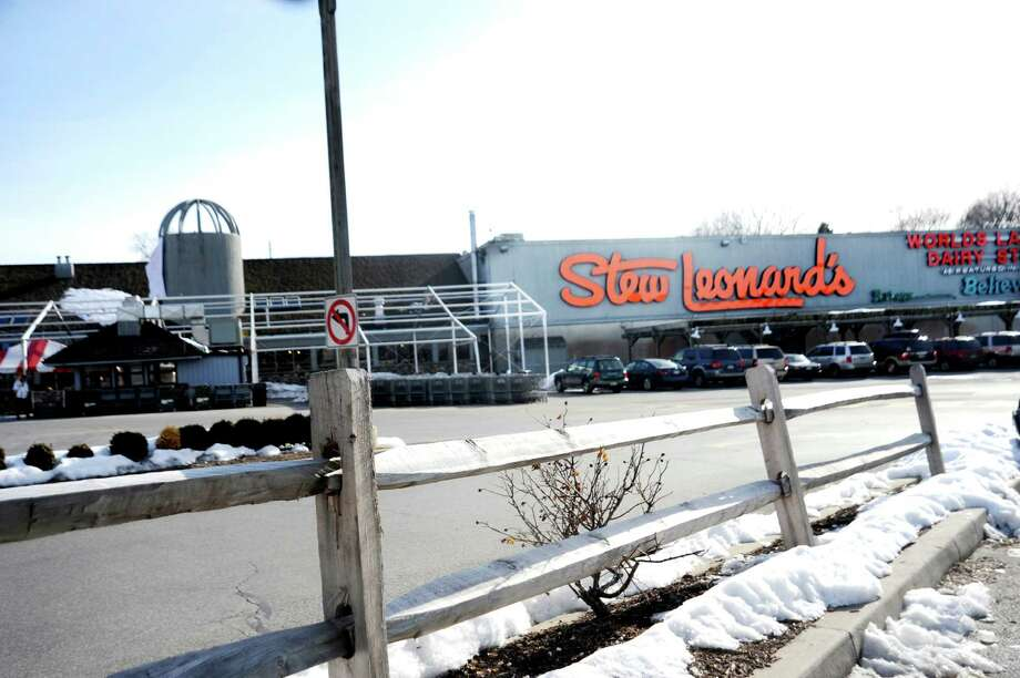 A jury on Thursday, March 28, 2013 awarded nearly $120,000 to an Easton woman injured when she fell outside the Norwalk Stew Leonard's store six years ago. The six-member, Superior Court jury deliberated about two hours before finding the store's owner negligently caused the injuries to now 74-year-old Favronia Fatse.  Stew Leonard's in Norwalk, on Wednesday, Feb. 9, 2011. Photo: Helen Neafsey, ST / Greenwich Time