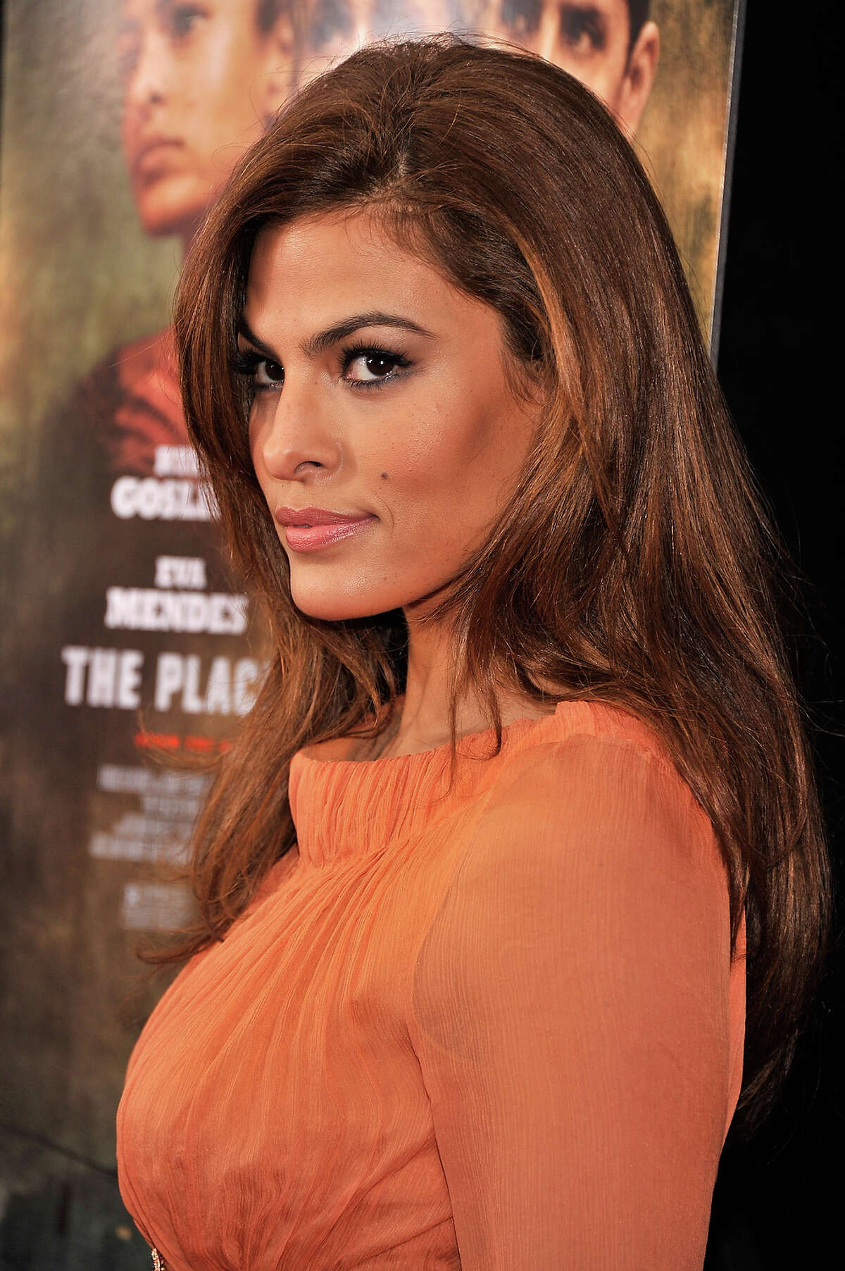 Actress Eva Mendes attends