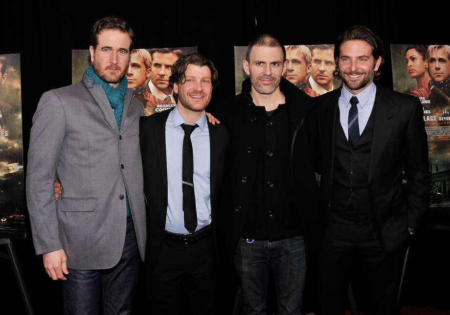 """Actor Bradley Cooper (R) attends """"The Place Beyond The Pines"""" New York Premiere at Landmark Sunshine Cinema on March 28, 2013 in New York City. Photo: Stephen Lovekin, Getty Images / 2013 Getty Images"""