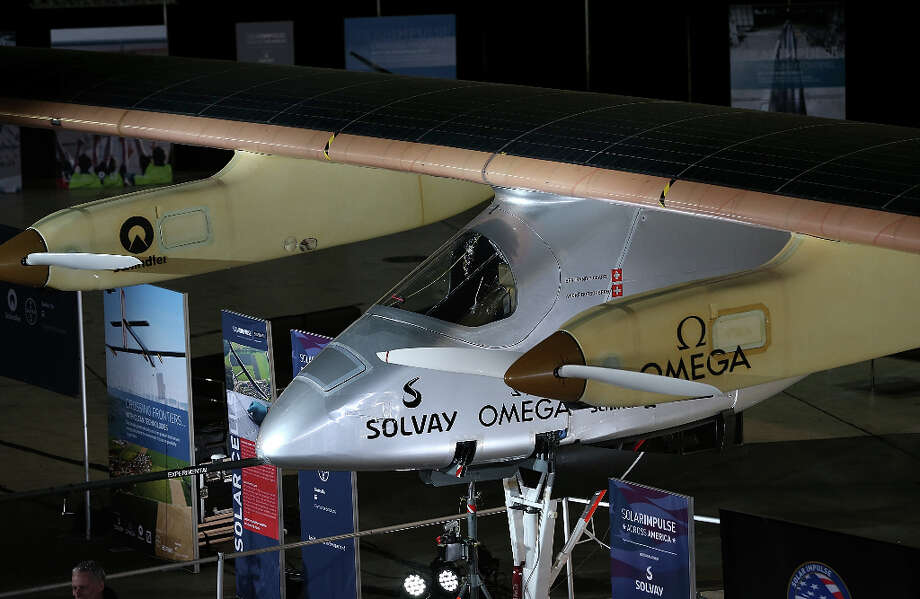 The Solar Impulse will begin test flights around the San Francisco Bay Area ahead of a planned flight across the United States later this year. Photo: Justin Sullivan, Getty Images / 2013 Getty Images