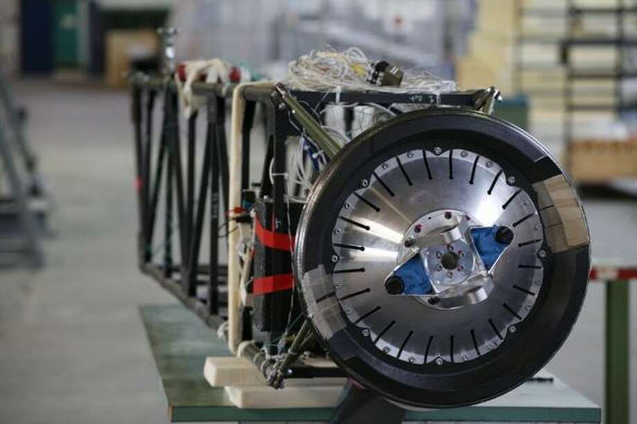 An engine used for the Solar Impulse plane.
